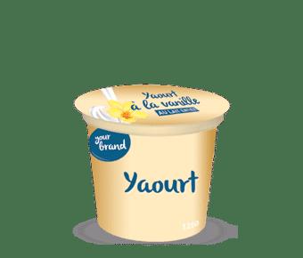 Dairy factory in Africa: yogurt