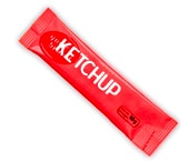 Ketchup plant in stick in africa